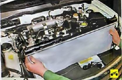 Замена отводящего шланга радиатора альмера классик Покраска капота л200