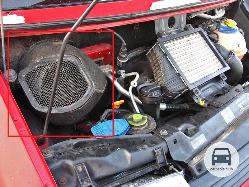 фольксваген транспортер т4 салонный фильтр