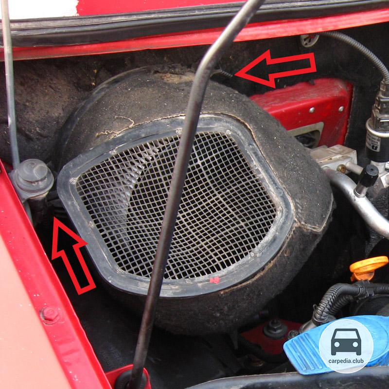 Фильтр салона на фольксваген транспортер фольксваген транспортер какой мотор лучше